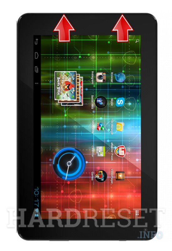 HardReset PRESTIGIO MultiPad 7.0 HD PLUS