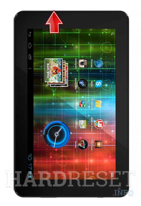 Master Reset PRESTIGIO MultiPad 7.0 HD PLUS