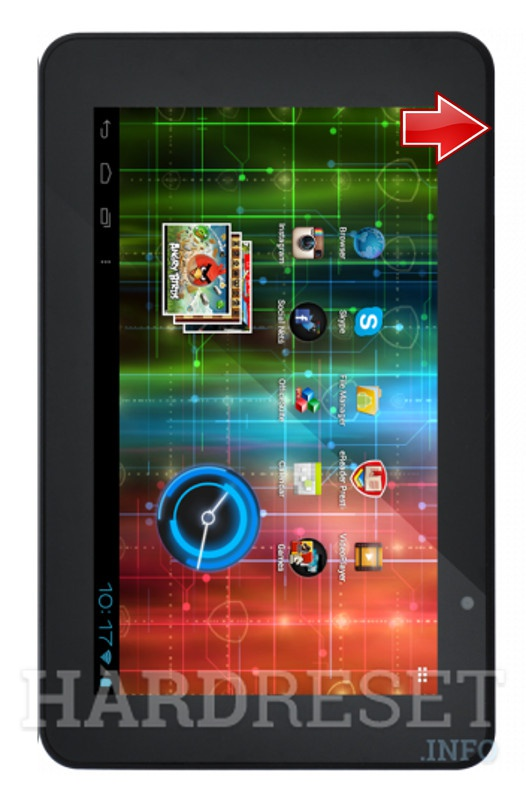 Hard Reset PRESTIGIO MultiPad 7.0 HD