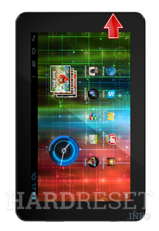 Hard Reset PRESTIGIO MultiPad 7.0 HD PLUS