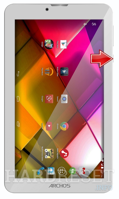 Hard Reset ARCHOS 70 Copper