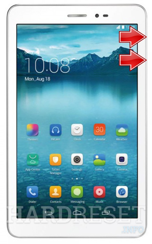 HardReset HUAWEI Honor Tablet 8
