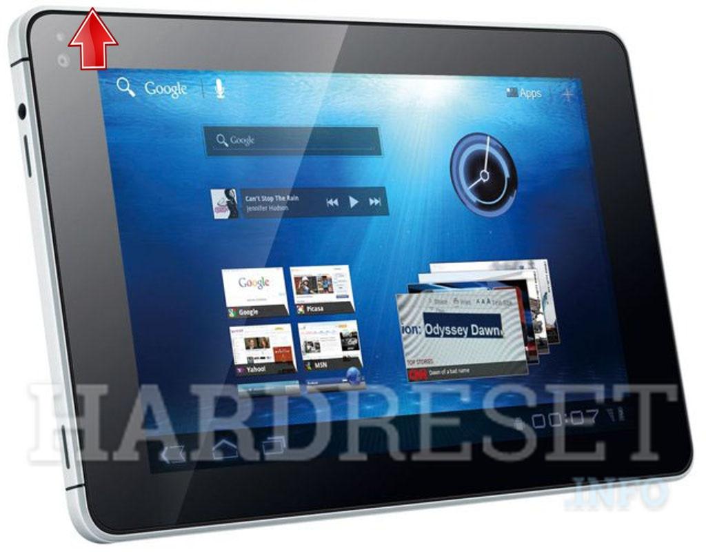 Hard Reset HUAWEI MediaPad - HardReset info