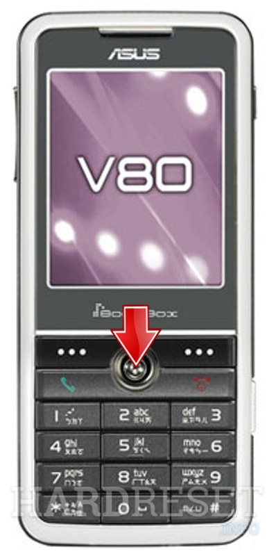 Factory Reset ASUS V80