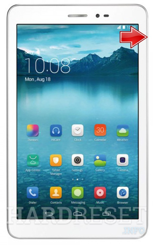 Factory Reset HUAWEI Honor Tablet 8""