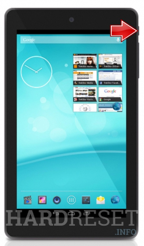 Hard Reset TREKSTOR SurfTab breeze 7.0 quad