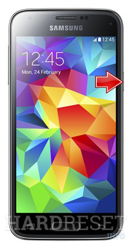 Remove screen password on SAMSUNG G800H Galaxy S5 mini