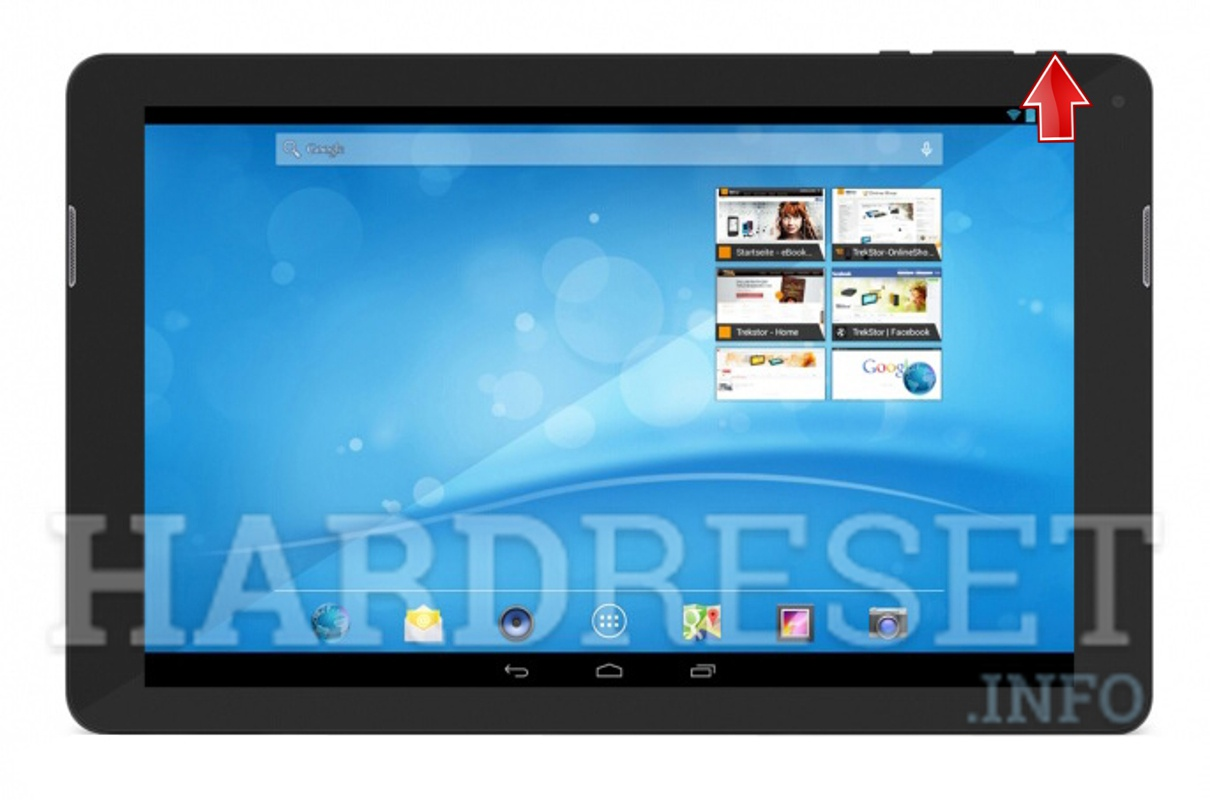 Hard Reset TREKSTOR SurfTab xintron i 10.1 Fan Edition