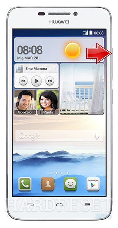 Master Reset HUAWEI Ascend G630