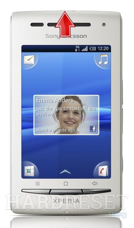 how to hard reset my phone sony ericsson xperia x8i e15i rh hardreset info