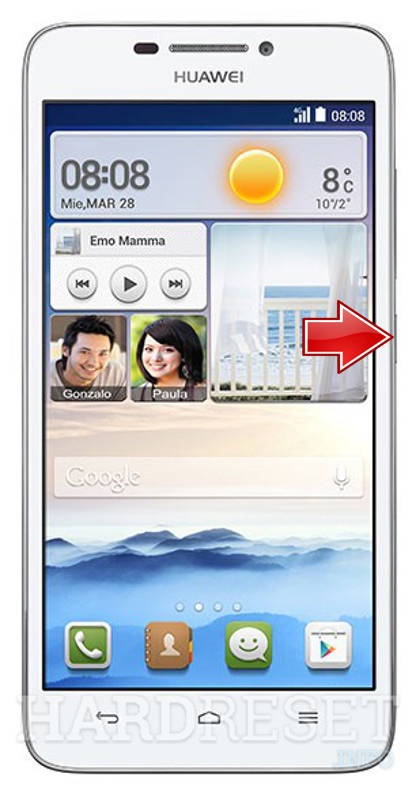 Recovery Mode HUAWEI Ascend G630, how to - HardReset info