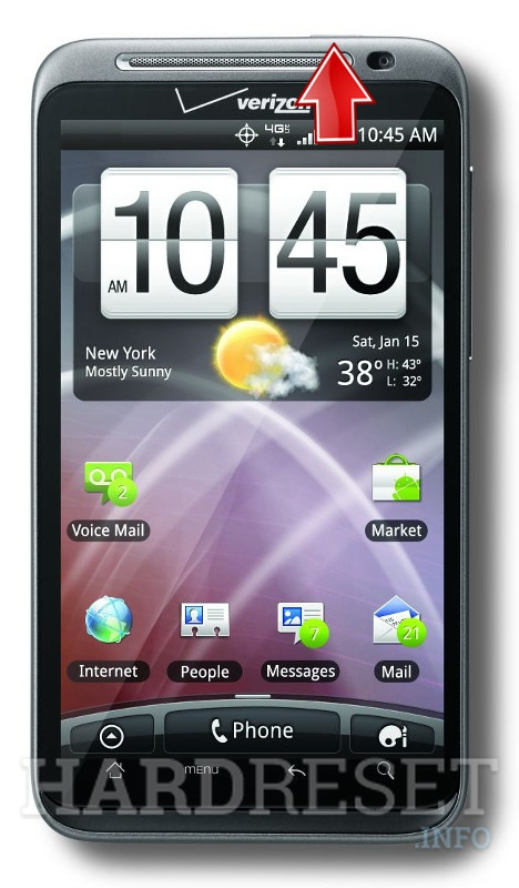 Hard Reset HTC ThunderBolt