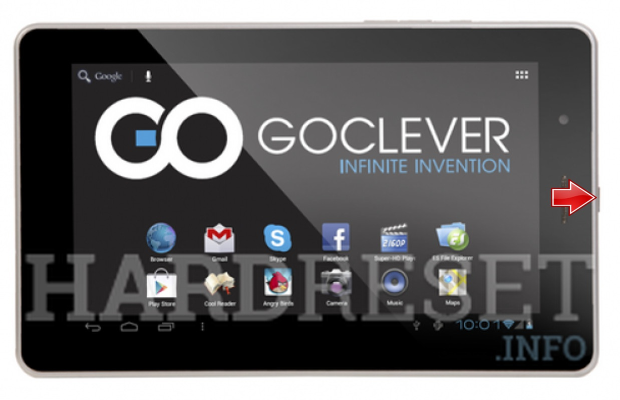 Hard Reset GOCLEVER Elipso 72
