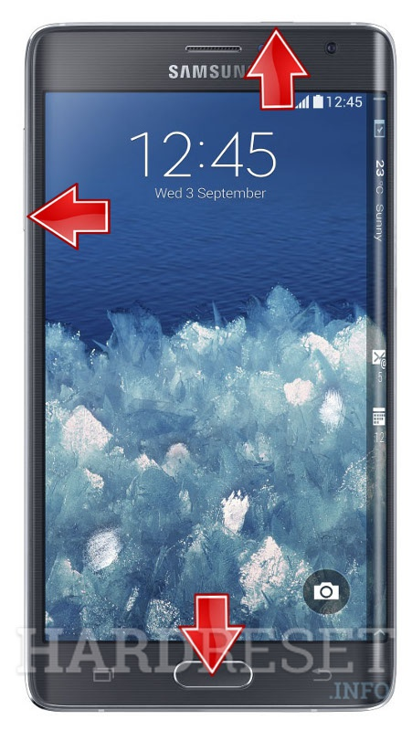 Factory Reset SAMSUNG N915G Galaxy Note Edge