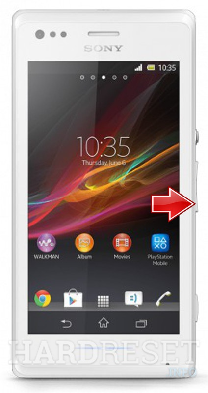 Fastboot Mode Sony Xperia M C1905 Hardreset Info