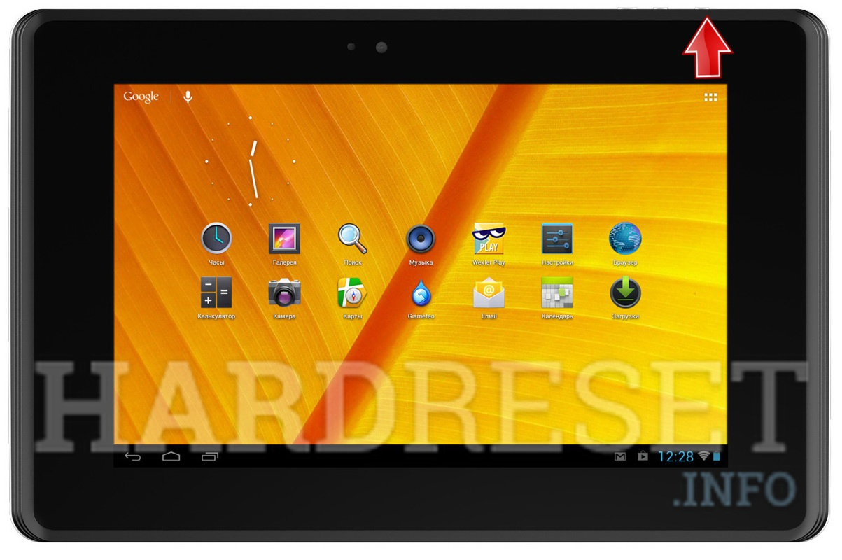 Hard Reset WEXLER TAB 7iS