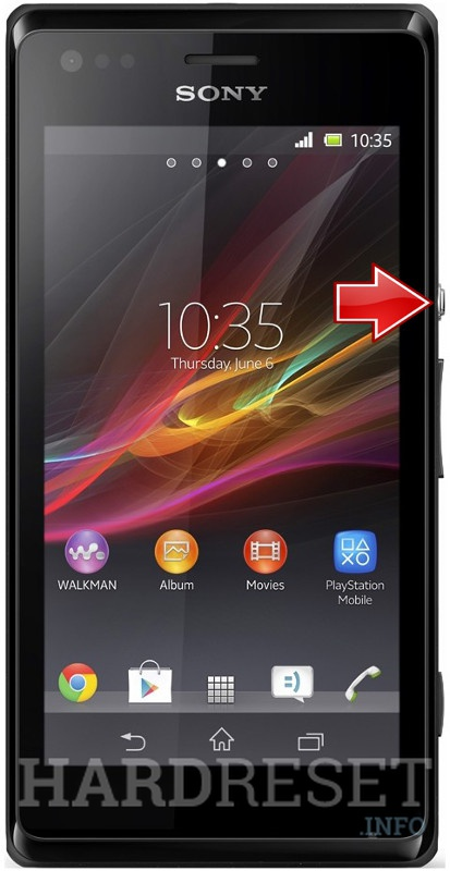 Hard Reset SONY Xperia M Dual C2005