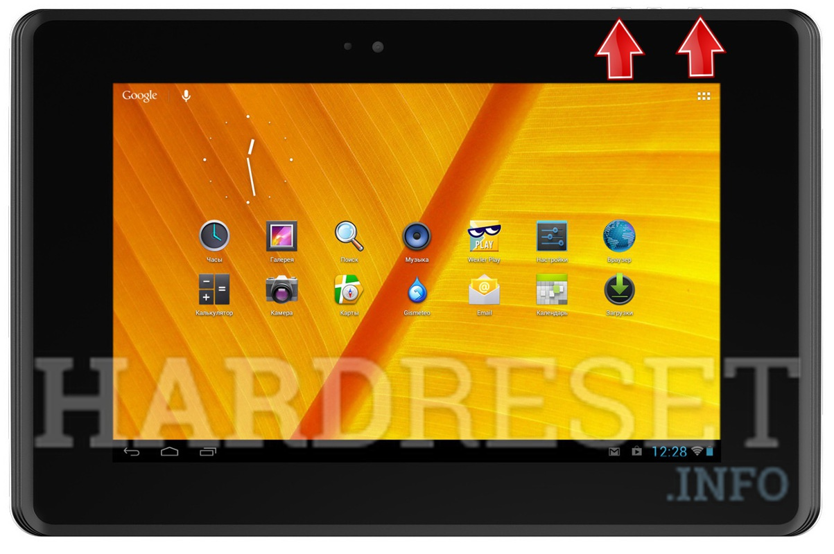 HardReset WEXLER TAB 7iS