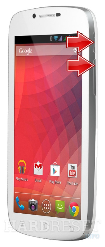 Remove screen password on EVOLVEO XtraPhone 5.3 QC