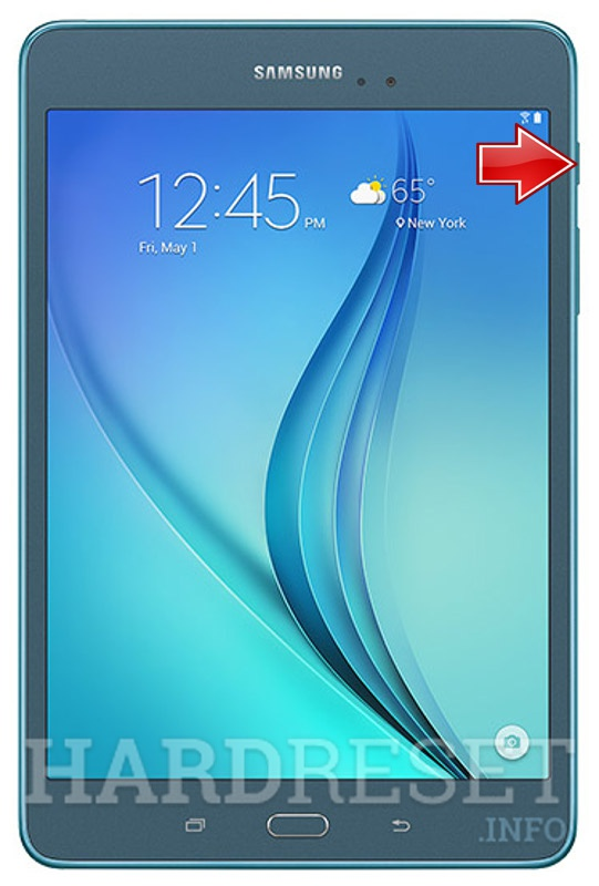 """SAMSUNG T550 Galaxy Tab A 9.7"""" - How to Hard Reset my"""
