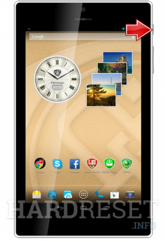 Hard Reset PRESTIGIO MultiPad Color 7.0 3G