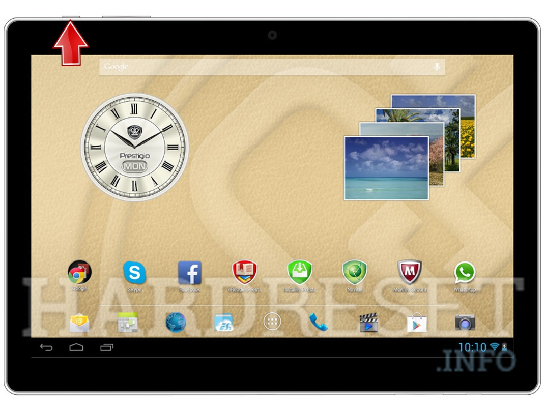 Hard Reset PRESTIGIO MultiPad Color 10.1 3G