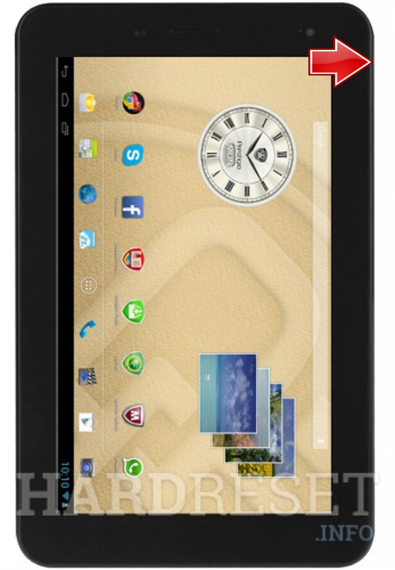 Hard Reset PRESTIGIO Multipad Journey 7.0 3G