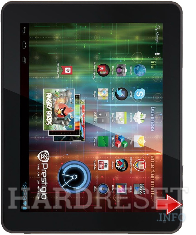 Hard Reset PRESTIGIO MultiPad 9.7 ULTRA DUO