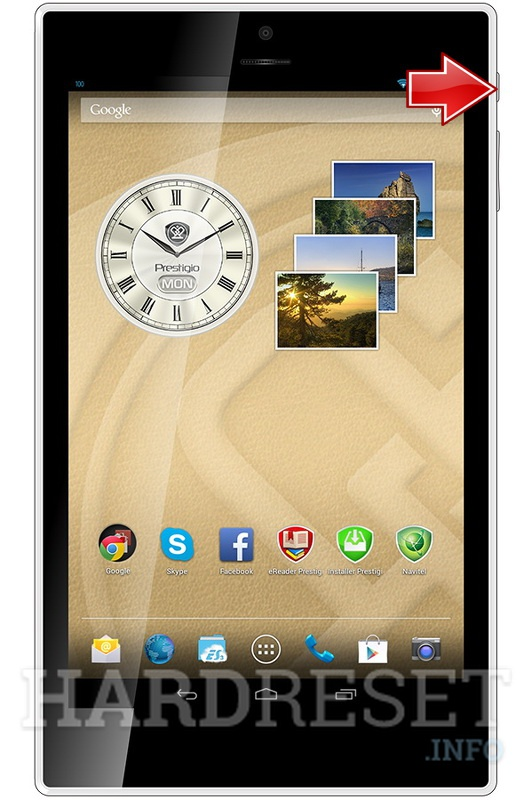 Hard Reset PRESTIGIO MultiPad Color 8.0 3G