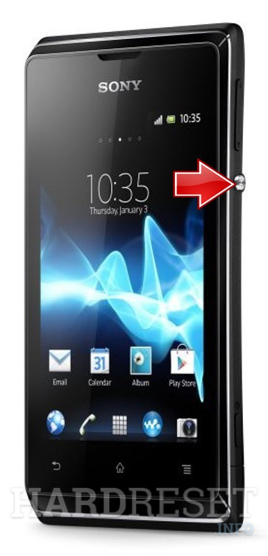 sony xperia e c1505 how to soft reset my phone