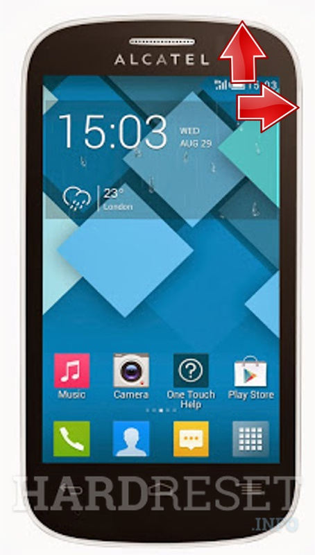 HardReset ALCATEL 4033X One Touch POP C3