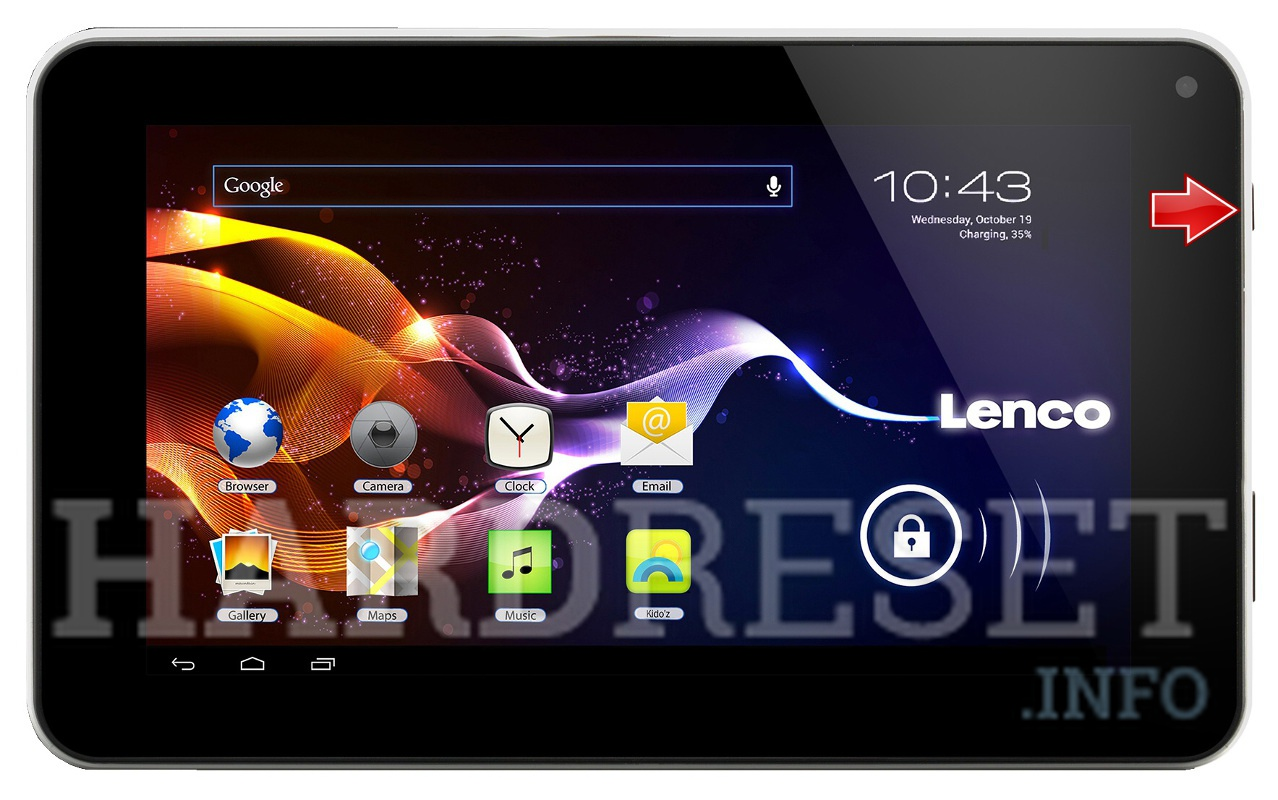 Hard Reset LENCO Tab 4 Two 70