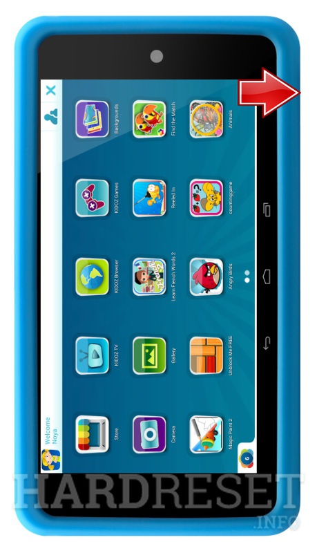 Hard Reset LENCO KidzTab-520 mini