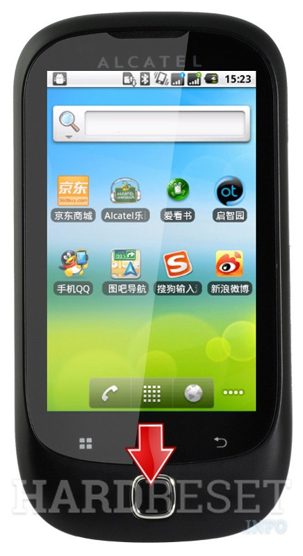 Factory Reset ALCATEL OT-927