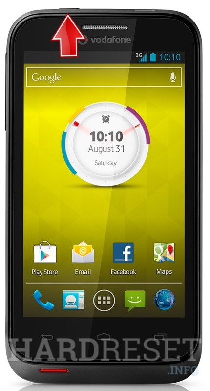 Hard Reset VODAFONE Smart III 975