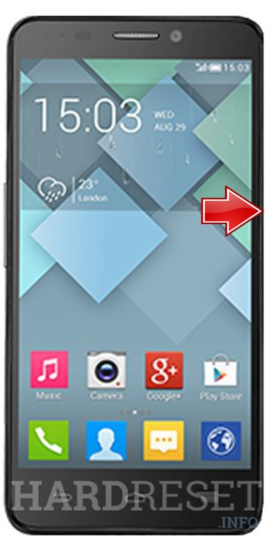 Hard Reset ALCATEL OT-6034R Idol S