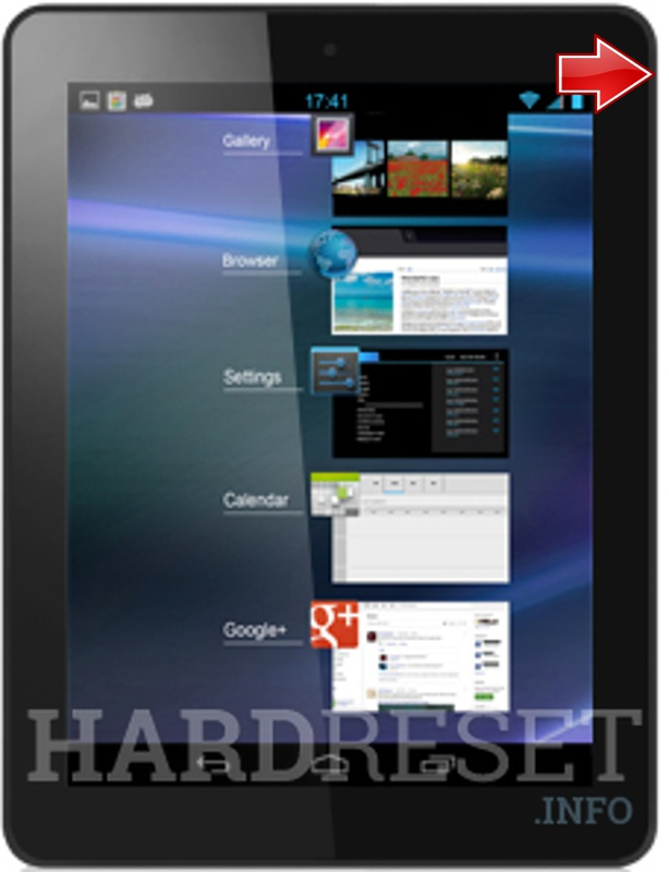 Hard Reset ALCATEL ONE TOUCH TAB 8 HD