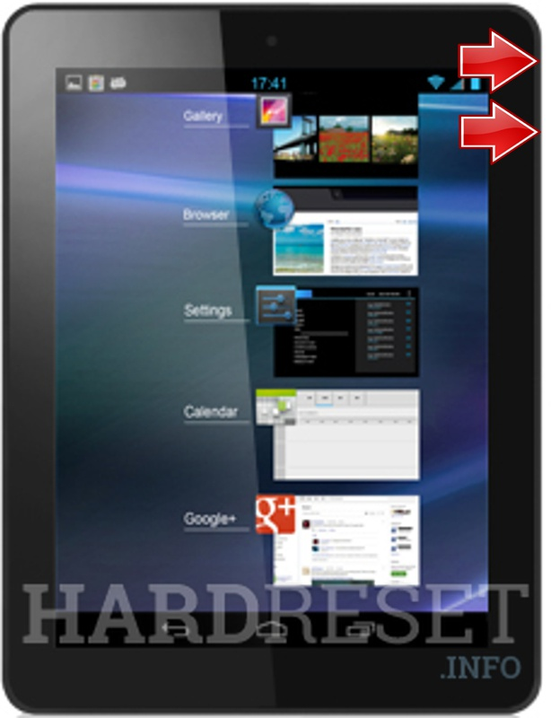 HardReset ALCATEL ONE TOUCH TAB 8 HD