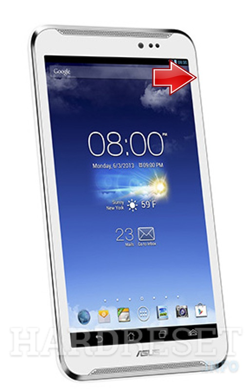 Hard Reset ASUS FonePad Note FHD6