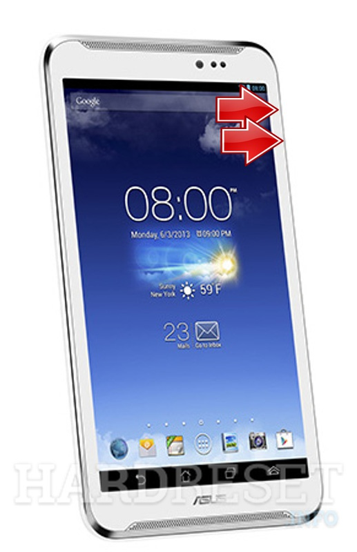 HardReset ASUS FonePad Note FHD6