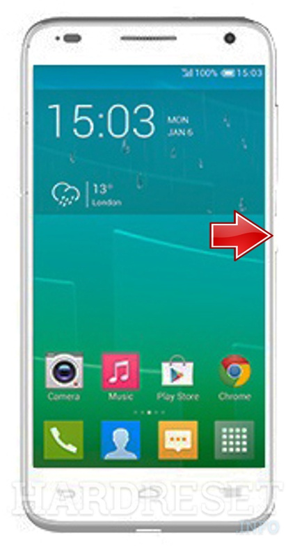 Hard Reset ALCATEL OT-6036A Idol 2 mini S
