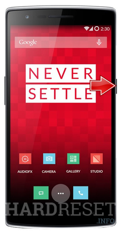Hard Reset OnePlus One