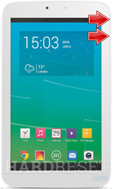 HardReset ALCATEL P330X One Touch POP 7S