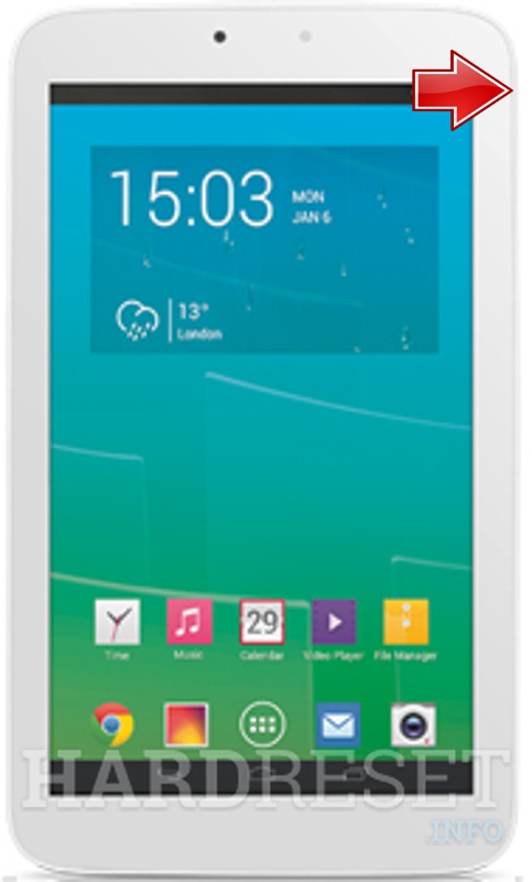 Hard Reset ALCATEL P330X One Touch POP 7S