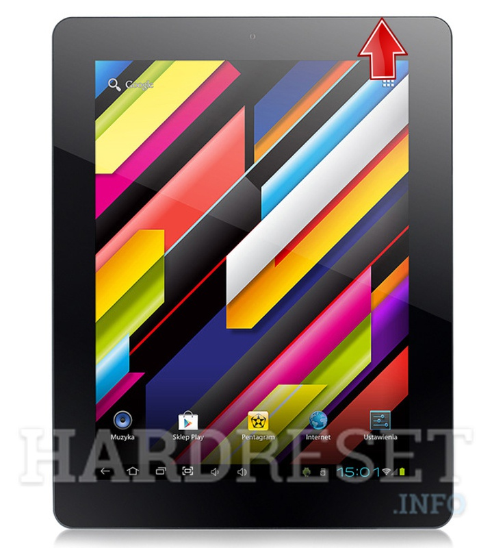 Hard Reset PENTAGRAM Quadra 9.7