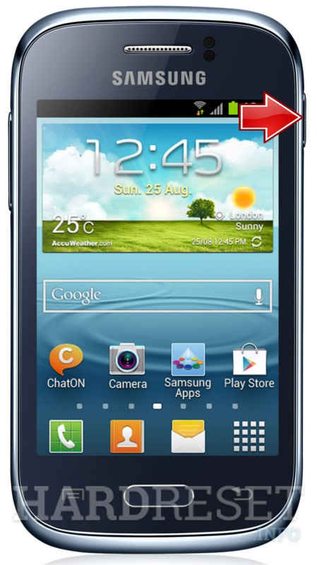Hard Reset SAMSUNG S6310L Galaxy Young