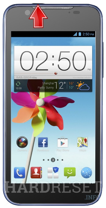 Hard Reset ZTE Grand X2 In