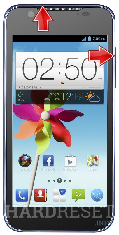 HardReset ZTE Grand X2 In