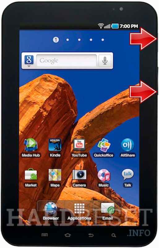 Remove screen password SAMSUNG Galaxy Tab 4G LTE