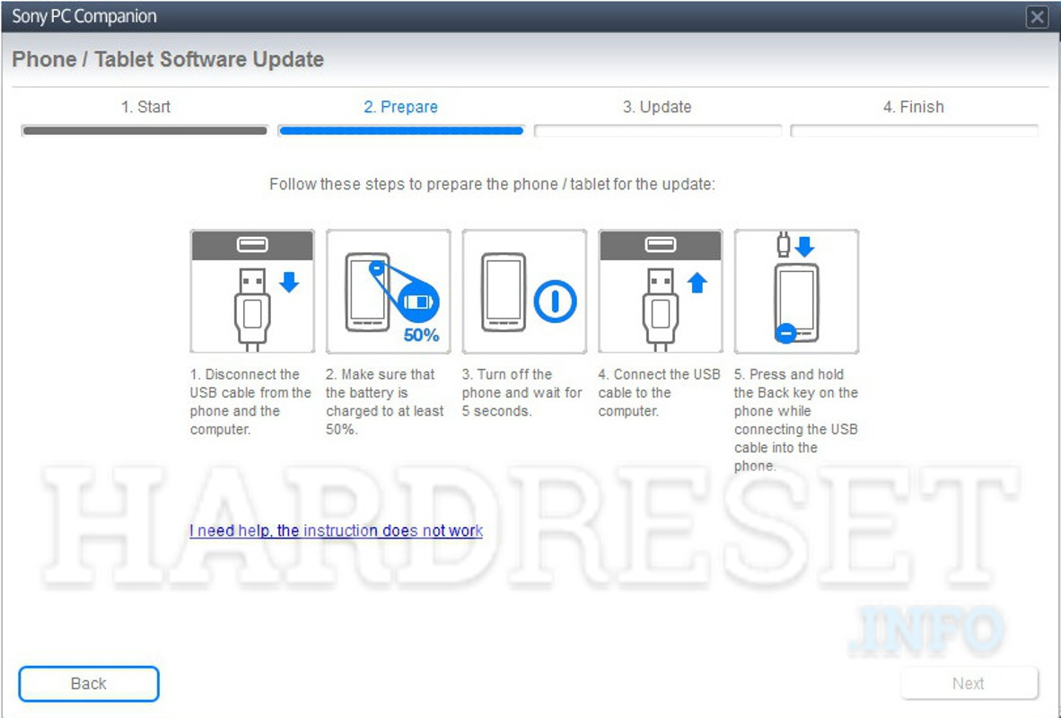 Hard Reset SONY Xperia Tablet S